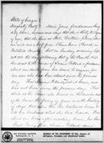 Affidavit of Maria Jones: Albany, Georgia, 1868 Oct. 5