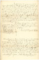 Deed of manumission by Sarah G. Warfield for Negro slave named James France