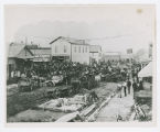 Town square photograph