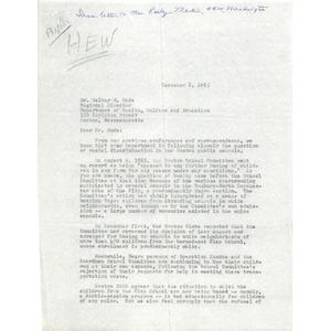 Letter, Walter W. Mode, December 8, 1965
