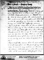 Affidavit of Washington Jones: Albany, Georgia, 1868 Sept. 23