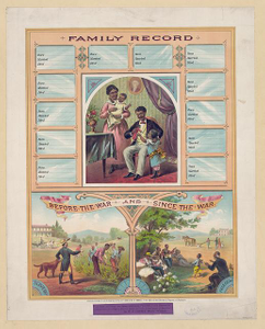Family record. Before the war and since the war
