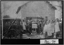 [Photograph of African-American funeral at what may have been the Macedonia Church, Pulaski County, Georgia, 1937 Feb. 25]