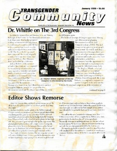 Transgender Community News, Vol. 13 No. 1 (January 1999)