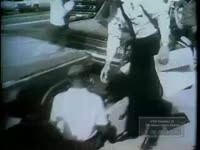BLACK DEMONSTRATORS ARRESTED IN JACKSON CARRIED OFF BY OTHER BLACKS (NO DATE)