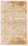 Last Will & Testament of Tilley Haggens of Berwick, York County, 1777