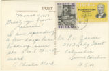 Eugene Avery Adams papers, 1892-1968, folder 40; March 8-20, 1957