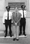 Crime stoppers James Burford, Anthony Pineau, and Raymond Watson, 1981