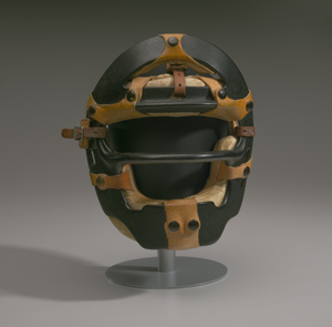 Umpire mask worn by Emmett Ashford