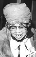 """Wallace, Sippie; Singer. Blues singer honored by Detroit on """"Sippie Wallace Day in Detroit"""""""