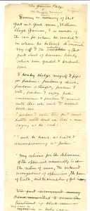 Garrison pledge of the Niagara Movement