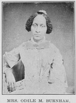 Mrs. Odile M. Burnham; One who works hard for the uplifting of her race