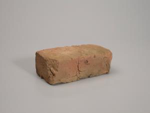 Brick from the chimney at Whitehead Plantation