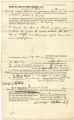 Bill of sale from Elizabeth Warfield to Joshua H. Shipley for Negro slave named Sam or Sambo