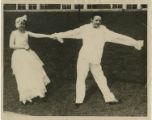 Eliz Swicegood and Frederica Clodfelter