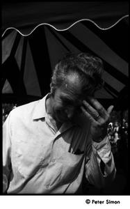 Dave Brubeck, at Jackie Robinson's jazz concert