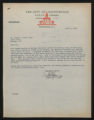 Documents regarding the daily administration and operation of Fort Macon State Park, 1954
