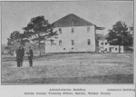Administration building industrial building Galilee County training school, Galilee, Walker County