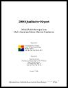 2008 qualitative report : public health messages from Utah's racial and ethnic minority populations (October 7, 2008)