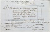 Charles B. Johnson correspondence, business records and receipts, Jan.-Feb. 1863