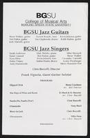 BGSU Jazz Guitars and BGSU Jazz Singers