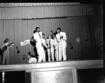 The Cavaliers [?] singers, c/o Leo Tourisend [?] [from envelope] [acetate film photonegative,] Feb. 1955