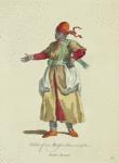 Habit of a morisco slave in 1568. Esclave moraure
