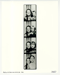 Lisa and kids, taken in photo booth