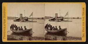 Double turretted monitor Onondaga, on the James River