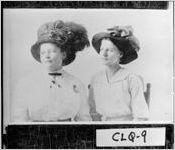 [Photograph of two women, Crosland, Colquitt County, Georgia, ca. 1908]