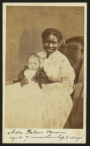 Ada Peters Brown, aged 7 months - less 3 days