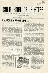 California Newsletter