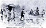 The road to liberty; a station on the Underground Railroad