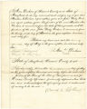 Deed of manumission by Ann Dickson (colored) for Negro slaves named Martha Ann Dickson and John Wesley Dickson, dated May 22, 1860