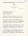 Correspondence between Robert R. Spillane, Superintendent of Boston Public Schools, and Judge W. Arthur Garrity, 1985 January