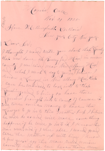 Letter from W. A. Wade to W. E. B. Du Bois