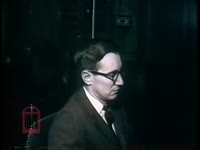 WSB-TV newsfilm clip of reporter Ray Moore interviewing United States attorney general Robert F. Kennedy about the Freedom Rides and about school integration, Washington, D.C., 1961