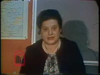 WSB-TV newsfilm clip of white and African American teachers transferred to achieve faculty integration in schools in Atlanta, Georgia, 1970 March 9