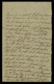 Letters from Henry Austin to Rosannah Austin (Mother)