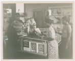 Women studying natural history photograph