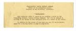 Notice from Headquarters Western Defense Command to Atsushi Ishida, December 15. 1944