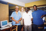 Eugene Redmond with three others