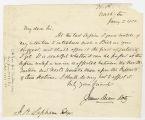 Box 8, Folder 1: Correspondence 1851