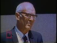 WSB-TV newsfilm clip of Joseph W. Sargis speaking about allegations against police officers in Columbus, Georgia, 1971 June