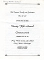 Commencement Program (1946)