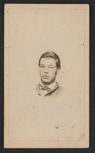 [Private William A. Low of Co. A, 36th Pennsylvania Infantry Regiment in uniform]