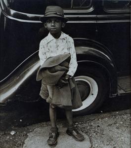 Boy and Car, New York City (Knickerbocker Village)