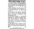 """Noble negro women of Iowa,"" September 19, 1919"