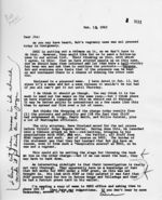 Letter: to Jim Dombrowski, 1963 February 13