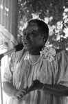 Esther Rolle at a 100 Black Men event, Los Angeles, 1985